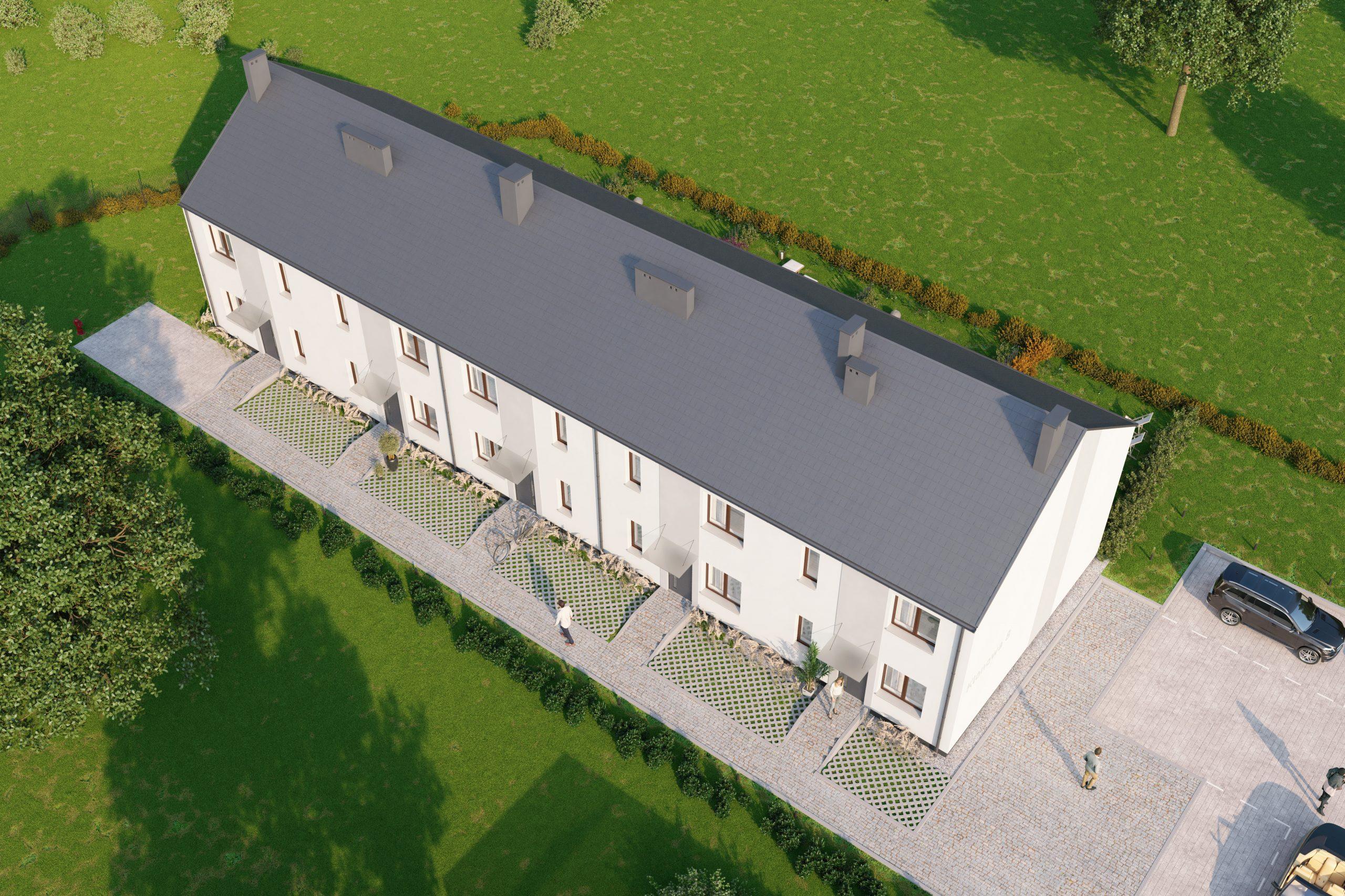 domy szeregowe rf dom kamieniec wrocławski klonowe zacisze
